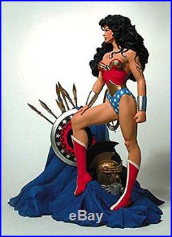 Wonder Woman Statue DC Collectibles Tim Bruckner Direct Brian Bolland Full Size