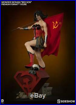 Wonder Woman'red Son'premium Format Figurele 1250sideshowmib